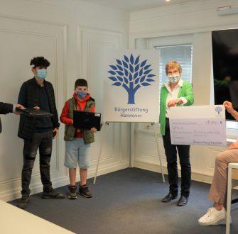 Bürgerstiftung Hannover stellt Corona-Sondermittel bereit
