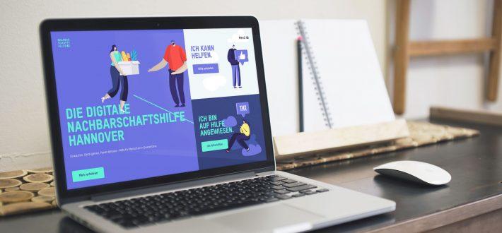 NACHBARSCHAFFTALLES: Plattform für digitale Nachbarschaftshilfe