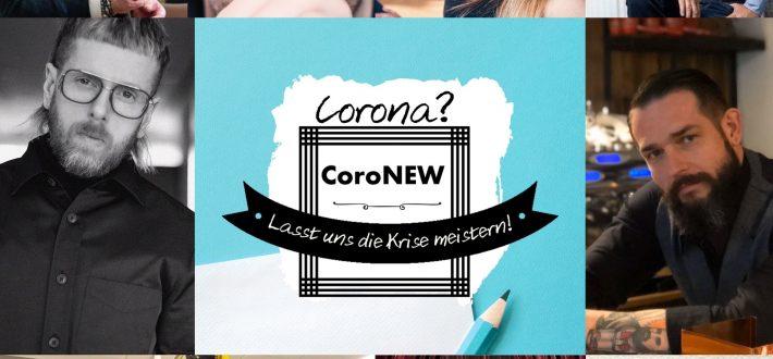 Corona? CoroNEW! – Ein Podcast, der Mut macht