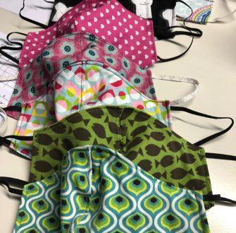 Upcycling: Masken nähen in Peine