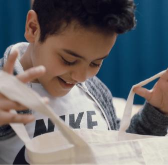 Kunst und Keks: Kreative Beutel zum Mitnehmen