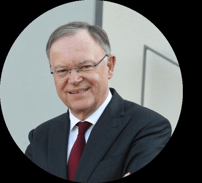 <strong>Stephan Weil</strong><br />Niedersächsischer Ministerpräsident