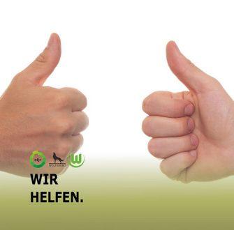 Wir helfen – Stadtjugendring Wolfsburg e. V., VfL Wolfsburg und Stadt Wolfsburg