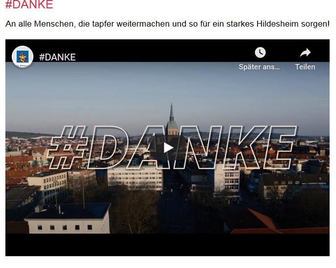 #DANKE HILDESHEIM