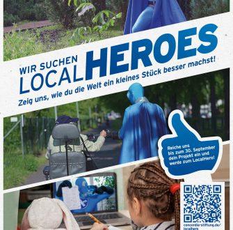 Concordia Stiftung: LocalHeros stehen fest!