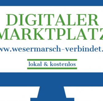 """Digitaler Marktplatz """"wesermarsch-verbindet"""""""
