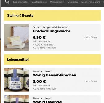 Shoppas App – virtueller Marktplatz zur Unterstützung regionaler Gewerbetreibender