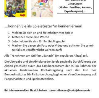 Radolfshausen: 4 Spiele – 1 Woche – 1 Meinung