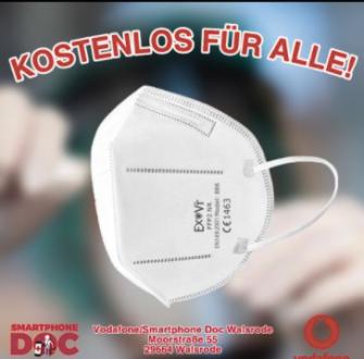 Smartphone Doc Walsrode: 10.000 kostenlose FFP2 Masken