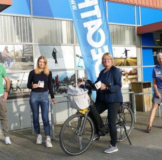 """Corona-Projekt """"3x um die Welt"""": Gemeinde Loxstedt spendet 1.500 Euro an Bürgerstiftung Bremerhaven"""