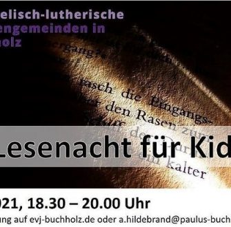 Lesenacht für Kids (via Zoom)