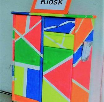Kreativer Kiosk der Kunstschule KunstWerk e.V. Hannover