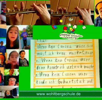 """Wolfsburger Schülerinnen und Schüler singen: """"Wenn kein Corona wär…"""""""