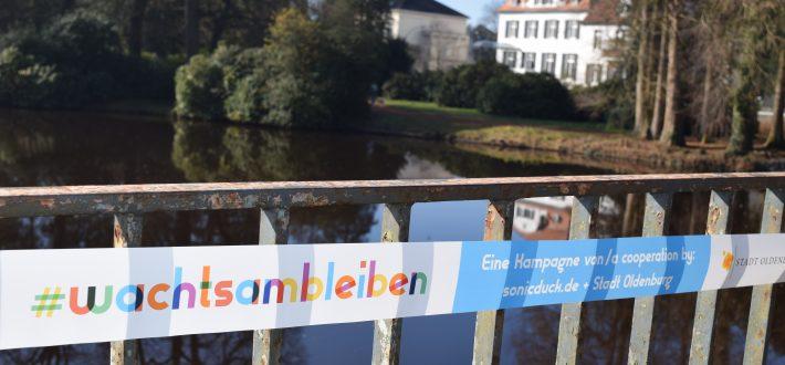 Kreativprojekt: Oldenburg bleibt (w)achtsam!