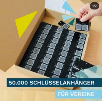 Regionssportbund Hannover e.V.: Luca App Schlüsselanhänger