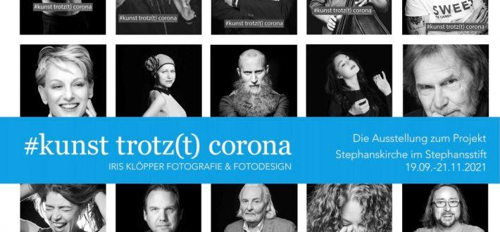 #kunst trotz(t) corona!