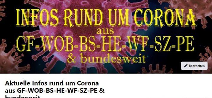 Corona Info Seite Hoitlingen